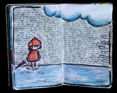 Today I Know – Page 2 – karenika Art Journal Pages, Art Journals, Art Journal Inspiration, Journal Ideas, Altered Books, Altered Art, Multimedia Arts, Mixed Media Journal, Hobonichi