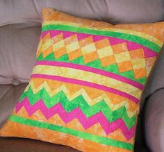 So Many Colors: Tutorial: Patchwork Seminole