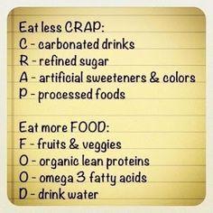 good food, good health