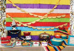 Mexico: Party Frosting: Cinco de Mayo Party Ideas & Inspiration!