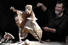 Julian Crouch & Saskia Lane – Puppet Workshop