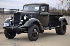 1935 Ford 4x4 dual rear axle custom built pickup, image 1