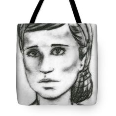 Portrait of a Ballerina Tote Bag by Joan-Violet Stretch