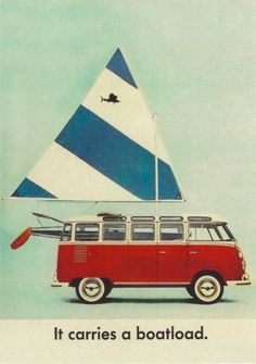 matt's collected a bunch of vintage vw ads... i think they'd look cool framed in dec's room