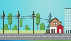 Procesul de distribuție a energiei electrice reprezintă dirijarea acesteia către fiecare consumator în parte, pornind de la stații electrice prin rețele de distribuție de înaltă, medie si joasă tensiune, cu tensiune până la 110 kV inclusiv, în vederea livrării acesteia către consumatori, fără a include și procesul de furnizare.