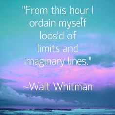 Walt Whitman quote that says it all. See this Instagram photo by @staceyfaydesigns • 4 likes