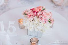 La Vie en Rose / Floral, Décor & Event Design » Anh and Scott at ...