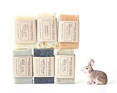 Organic Soap Samples from Herbivore Botanicals. (( I kid you not, this is the most amazing smelling soap in the world ))