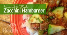 zucchini hamburger / http://www.healthstartsinthekitchen.com/2013/07/09/zucchini-hamburger/