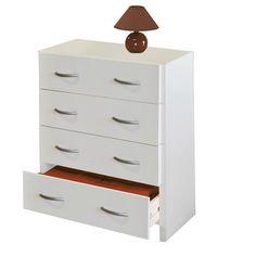 Prádelník 2982 bílý - Komody - IDEA nábytek Komodo, Dresser, Furniture, Mall, Home Decor, Homemade Home Decor, Lowboy, Stained Dresser, Home Furnishings