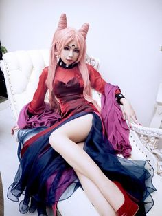 Black Lady from Sailor Moon R Cosplayed by 63 Photographed by ? Source: worldcosplay.net