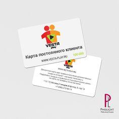 Дисконтная карта для интернет магазина Vesta-Play=)   #discountcard #Фриланс #Freelancer #пластиковая_карта #Freelance #Дизайн_графический