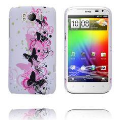 Valentine (Svarta Fjärilar) HTC Sensation XL-Skal