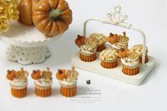 Petit D 'Licious: Halloween / de la magdalena Colección otoño de 2014 en Casa de muñecas en miniatura de Alimentos 1: 12