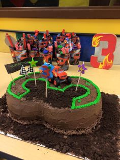 3rd Birthday, Blaze and the Monster Machines