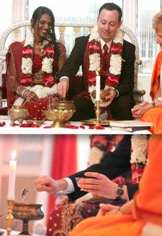 Indian-American wedding - www.eleganceandsimplicity.com