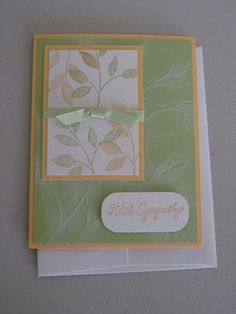 Best Blossoms Sympathy by jadoherty - Cards and Paper Crafts at Splitcoaststampers