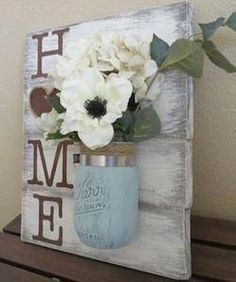 Home Pallet Decor -