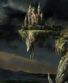 fantasy castle michael grimaldi landscape magics held ancient strong earth magic kunst artist landscapes writing