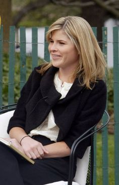 Jenna Welch Bush, born in 1981, daughter of George and Laura Bush.  She is a twin to Barbara Pierce Bush and an news reporter on the Today show.