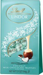 Lindt Lindor Coconut Chocolate Truffles, 5.1 oz, 6 pk, Coconut Chocolate - http://bestchocolateshop.com/lindt-lindor-coconut-chocolate-truffles-5-1-oz-6-pk-coconut-chocolate/