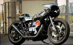 The Skull Tiger | Inazuma café racer