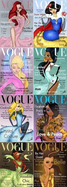 Disney Vogue