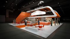 Concept visualization for exhibition stand for Arcelor Mittal.