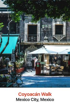 "Coyoacán in Mexico City charms with its narrow colonial-era streets, graceful plazas and shops. The name translates as ""place of coyotes"" and its genteel vibe has attracted such current residents as the Colombian novelist Gabriel Garcia Marquez."