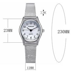 HOREDAR 3079 Full Steel Small Dial Elegant Women Watch Quartz Watches, Sport Casual, Pendant Earrings, Elegant Woman, Body Jewelry, Women Jewelry, Steel, Accessories, Drop Earring