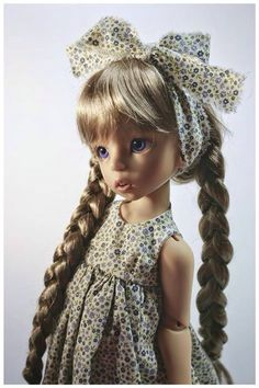 Sold Out/ Limited Edition Tan Amelia MSD BJD by Linda Macario