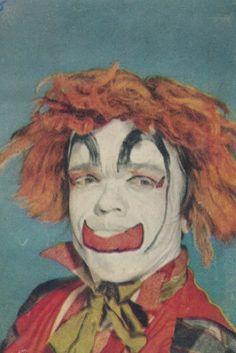 Anonymous Works: Clown Portraits