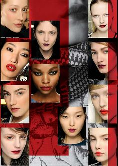 MAC Autumn/Winter 2013 Runway Trend Report | Makeup For LifeMakeup For Life | Au-currant