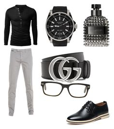 """Radek"" by noches on Polyvore featuring Eleventy, Gucci, Valentino, Tom Ford, men's fashion and menswear"