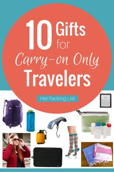 10 Gift Ideas for the Carry-On Traveler – Her Packing List - Carry ON Her Packing List, Packing Tips For Travel, Travel Essentials, Travel Hacks, His Travel, Travel With Kids, Global Holidays, Hawaii Things To Do, Travel Itinerary Template