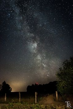 The Milky Way just behind the garden | by Astro-Foto-Tom