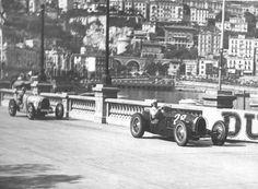 Tazio Nuvolari - Bugatti, 1934 Monaco GP