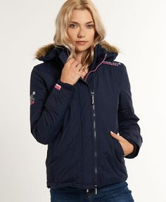 Superdry Quilted Fur Windcheater