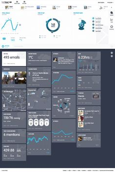 Personal data dashboard by TicTrac