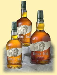 Buffalo Trace bottles. A little squat, but nice overall.