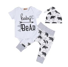 819bb961b9e8 Geo Baby Bear Set. Newborn ...
