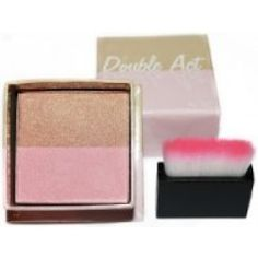 W7, Double Act W7 Cosmetics, Blush, Make Up, Beauty, Rouge, Makeup, Beauty Makeup, Beauty Illustration, Bronzer Makeup