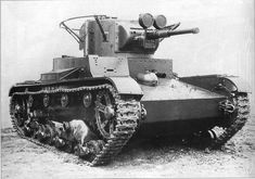 t26 tank   T26 tank (year 1933 version with cylindrical turret)