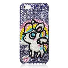 Generic Handmade Bling Bling Rainbow Unicorn Case For iPhone 5 Color Rainbow by ZLYC,     http://www.amazon.com/dp/B00D30R750/ref=cm_sw_r_pi_dp_PRj7rb1TX9P7M