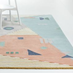 Sale ends soon. We've combined the perfect elements to create the ultimate graphic rug. Our Elements Rug sports an array of colorful geometric shapes that's sure to make a statement anywhere you put it. Unique Furniture, Custom Furniture, Playroom Rug, Playroom Furniture, House Furniture, Girls Rugs, Professional Upholstery Cleaning, 4x6 Rugs, Geometric Rug