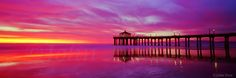 The John Post Gallery, Manhattan Beach, CA Manhattan Beach Pier, Los Angeles California, Northern Lights, Landscape, Places, Nature, Photographs, Travel, Beautiful
