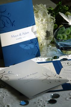 1000 images about faire part de mariage wedding stationery on pinterest. Black Bedroom Furniture Sets. Home Design Ideas