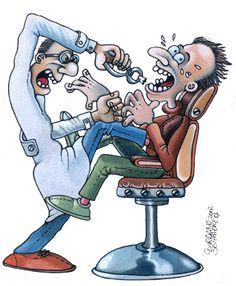 GAIALAND   - Confashions on a dancefloor -: Metti una sera dal dentista.