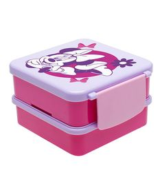 Look what I found on #zulily! Minnie Mouse Bento Box by Minnie Mouse #zulilyfinds