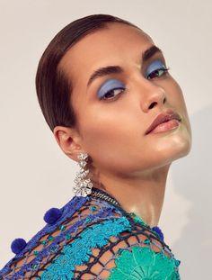 Gizele Oliveira Poses in Dazzling Gems for Harper's Bazaar Kazakhstan